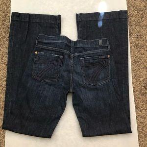 7 For All Mankind Dojo Jean size 29